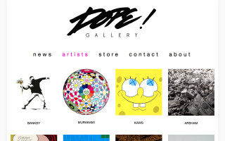 Accepting: Dope! Gallery