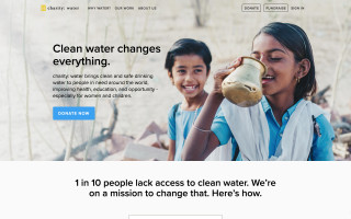 Pay with Crypto: Charity: Water